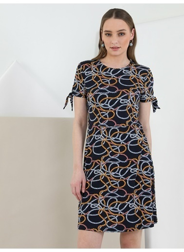 Colin's Regular Fit Kadın Lacivert Elbise Lacivert